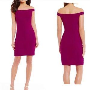 Belle Badgley Mischka Off The Shoulder Dress